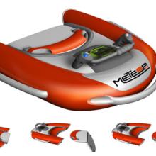 Проект водного буксировщика| Оборудование для спасателей, оказывающих помощь пострадавшему на воде | PC | Cinema 4D | Adobe Photoshop
