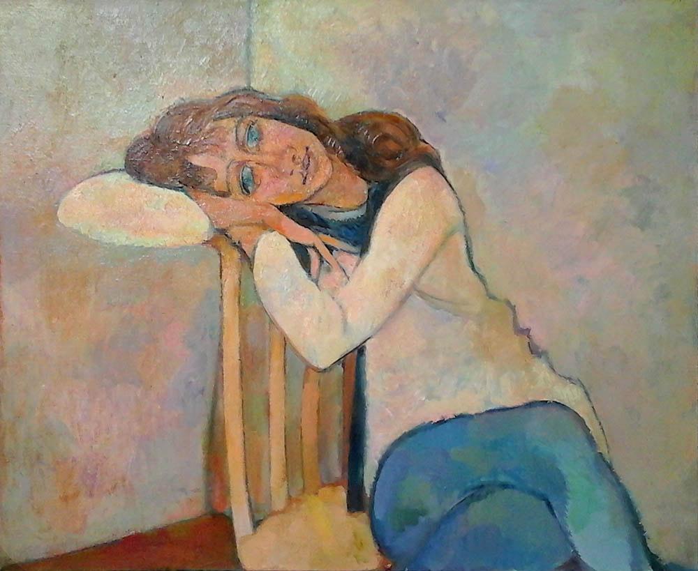 Лора, 1984г., Варна, Болгария, 73 х 90 см, холст, масло.