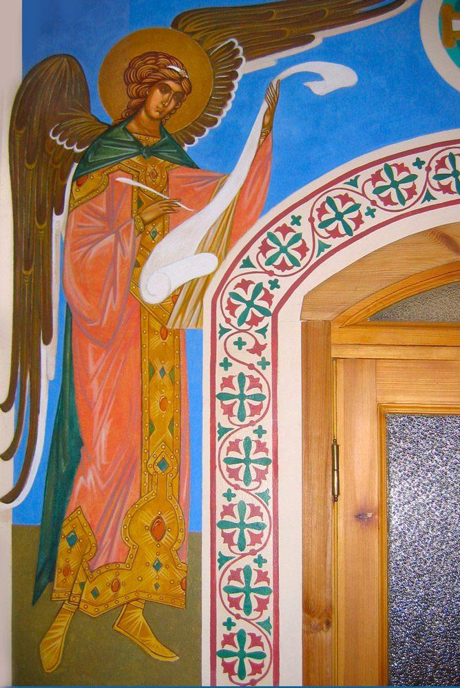 роспись Ангел