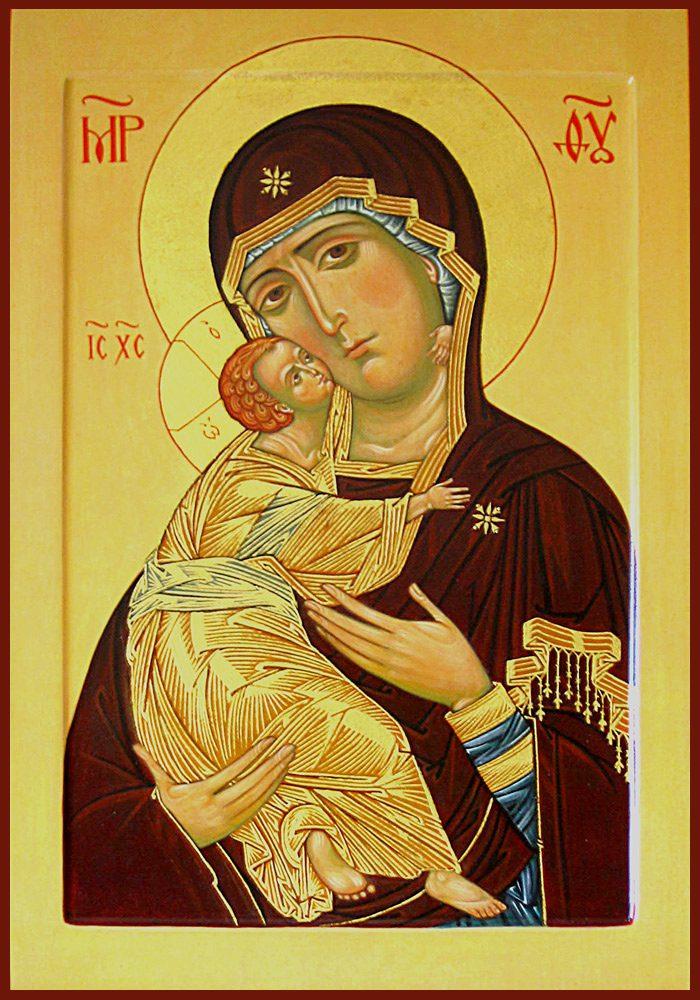 Икона Богородица Владимирская