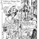 рисунки для комикса «Три мушкетера»